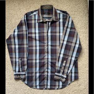 Bugatchi Uomo dress shirt size XL